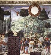 Procession of the Middle King GOZZOLI, Benozzo